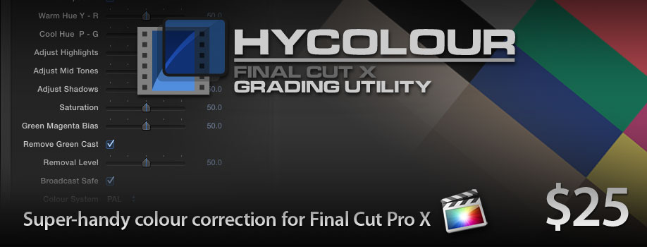 how to remove fx from final cut pro